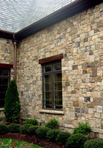 Willow Creek Wall Stone House Front
