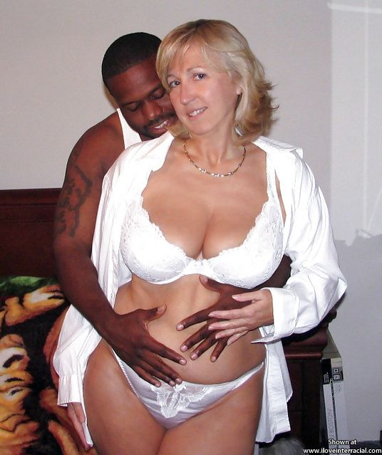 Mature married blonde