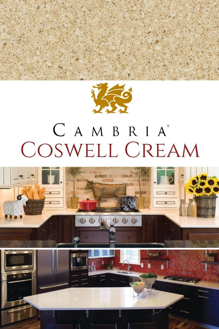 Coswell Cream Quartz Kitchen Countertops How To Install
