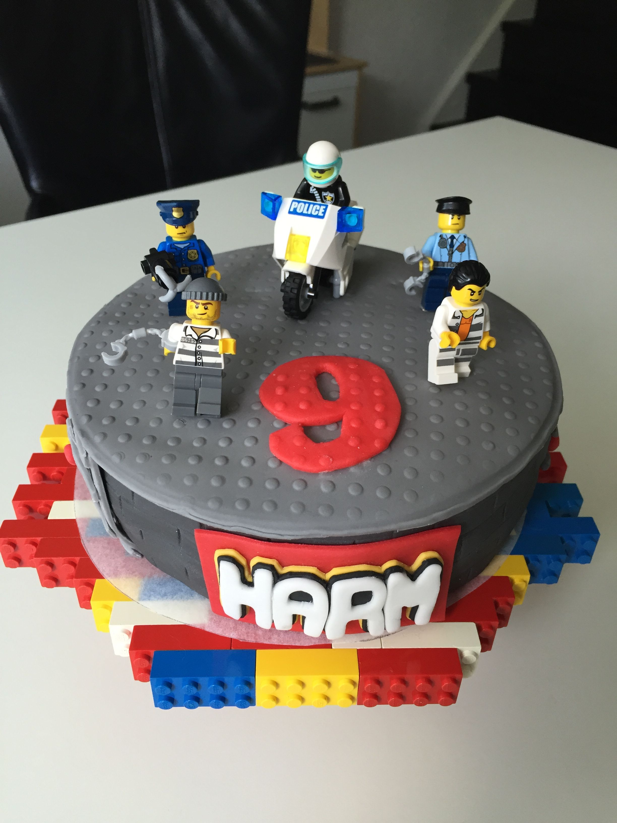 Lego City With Images Police Birthday Cakes Lego City Cakes
