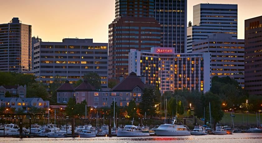 Hotel Portland Marriott Downtown Waterfront Or Booking