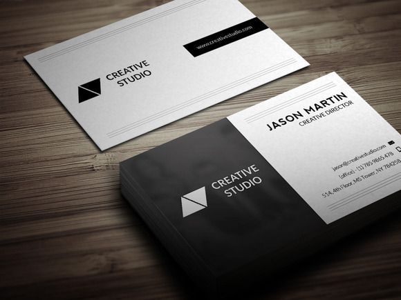 Dual Backside Business Card Business Cards Creative Templates Business Card Template Psd Business Cards Creative