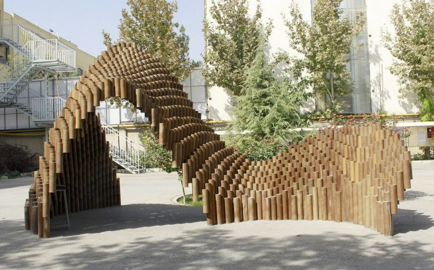 PIPE pavilion is made from over one thousand recycled cardboard tubes | Inhabitat - Green Design, Innovation, Architecture, Green Building