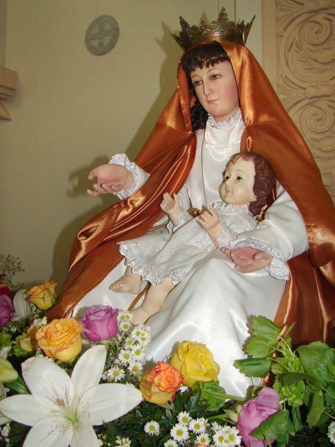 Virgen con el niño, Lico, Manuel Rodríguez. Iglesia del Tremedal, san Ramón, Alajuela, Costa Rica