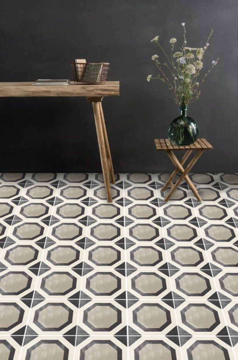 Vinyl Floor Tile Sticker Studio Black Rooms I Love Pinterest - Peel and stick rubber floor tiles