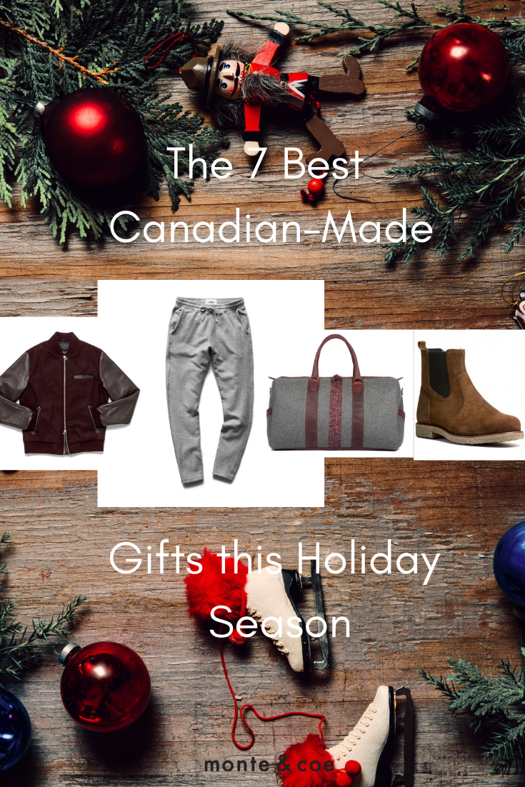 ffe93ef6b32 Looking for the perfect Christmas gift  Here is a Gift Guide outlining the Best  7 Canadian Made Gifts this Holiday Seasons. For Him