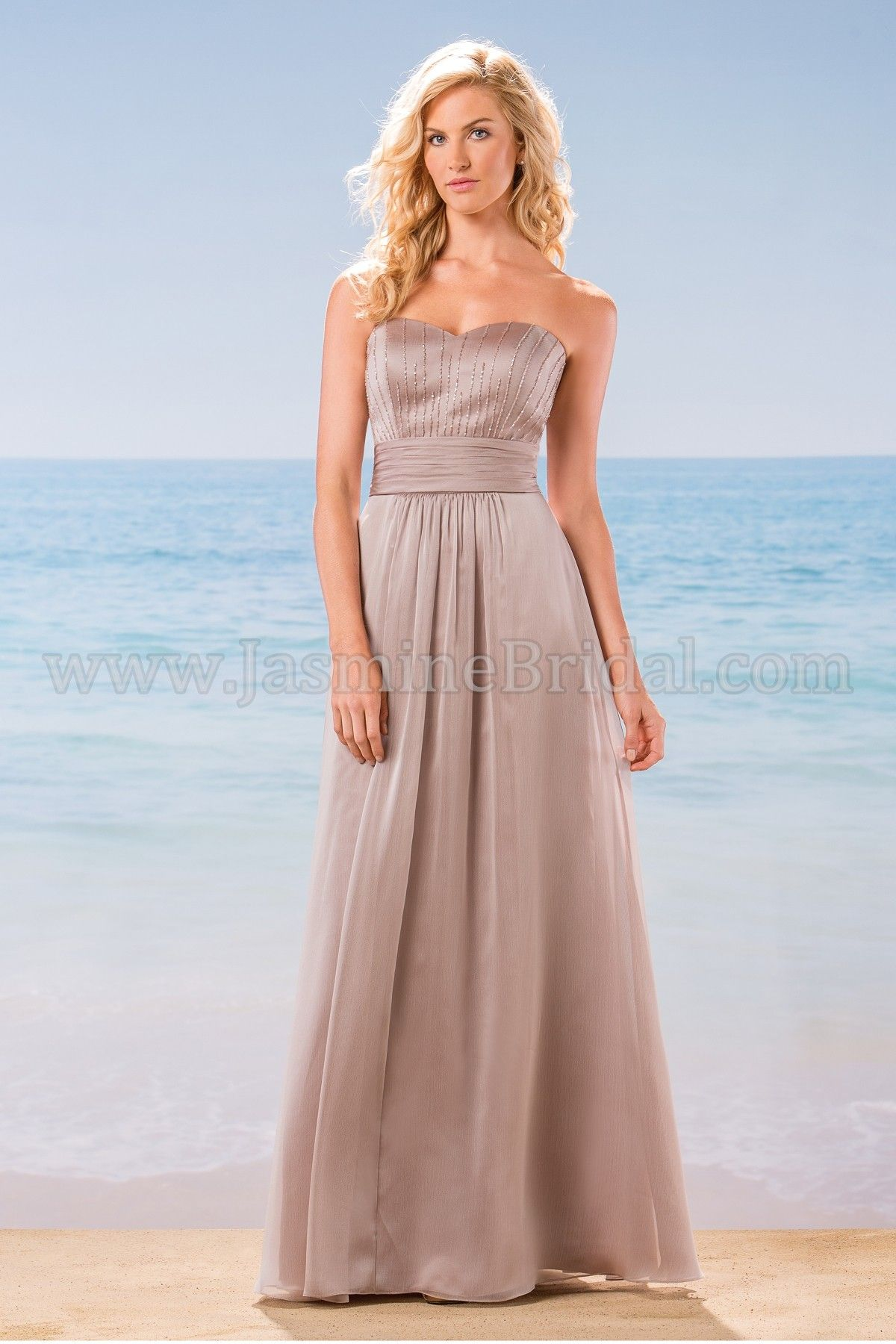 Jasmine bridal bridesmaid dress belsoie style l184006 in taupe jasmine bridal bridesmaid dress belsoie style l184006 in taupe ombrellifo Images