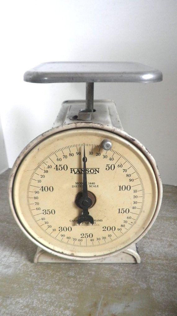 vtg hanson 500 gram dietetic scale by pascalene on etsy