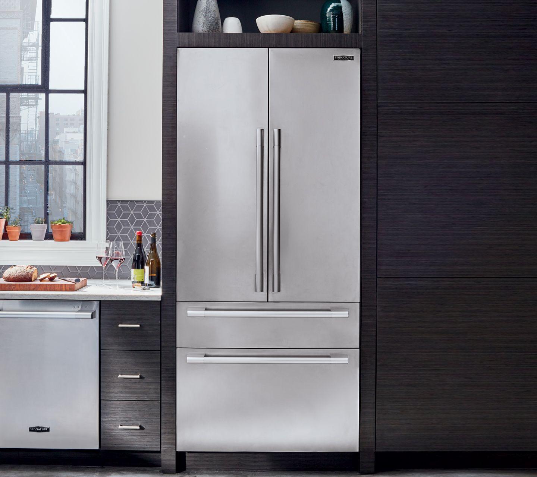 36 Built In French Door Refrigerator Signature Kitchen Suite In 2020 Kitchen Suite French Door Refrigerator French Doors
