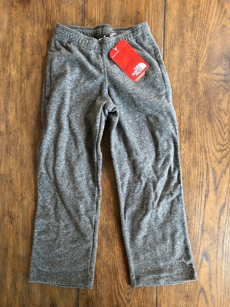 bc7a03b2bd The North Face boys gray fleece pants size 7 8 small NWT #fashion ...
