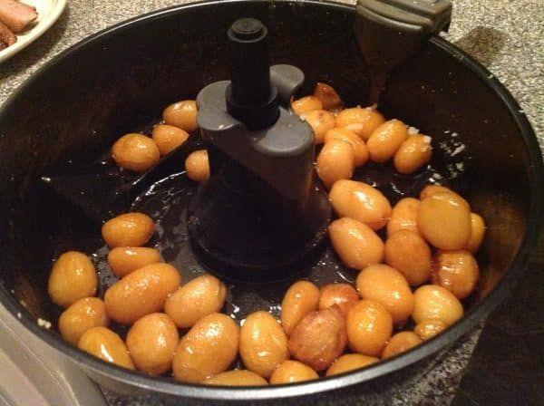 Brunede kartofler Actifry #brunedekartofler
