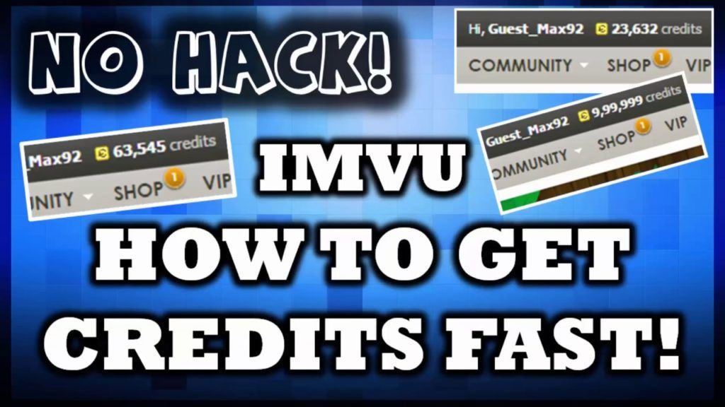 Imvu credits hack tools no verification unlimited