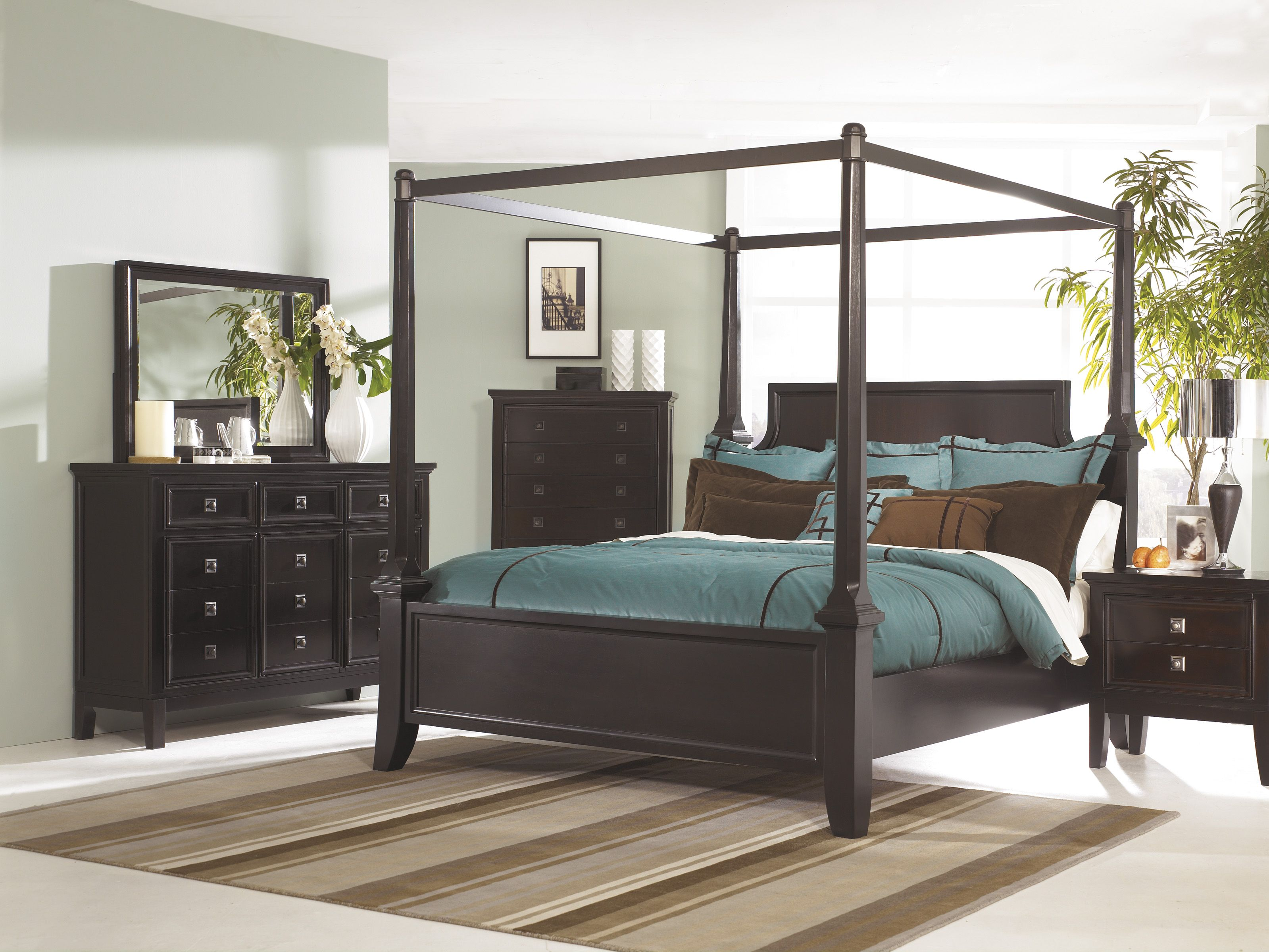 Ashley Furniture B551 Bedroom Set With Images Canopy Bedroom