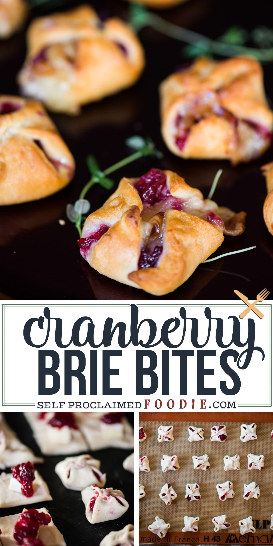Photo of CRANBERRY BRIE BITES