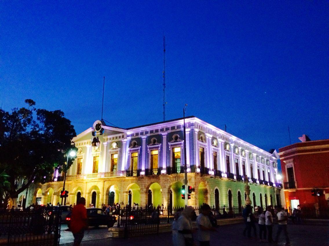 Centro histórico, Mérida, Yucatán, México