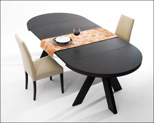 Mesas de comedor mesa comedor redonda haz sant boi for O kitchen mira mesa