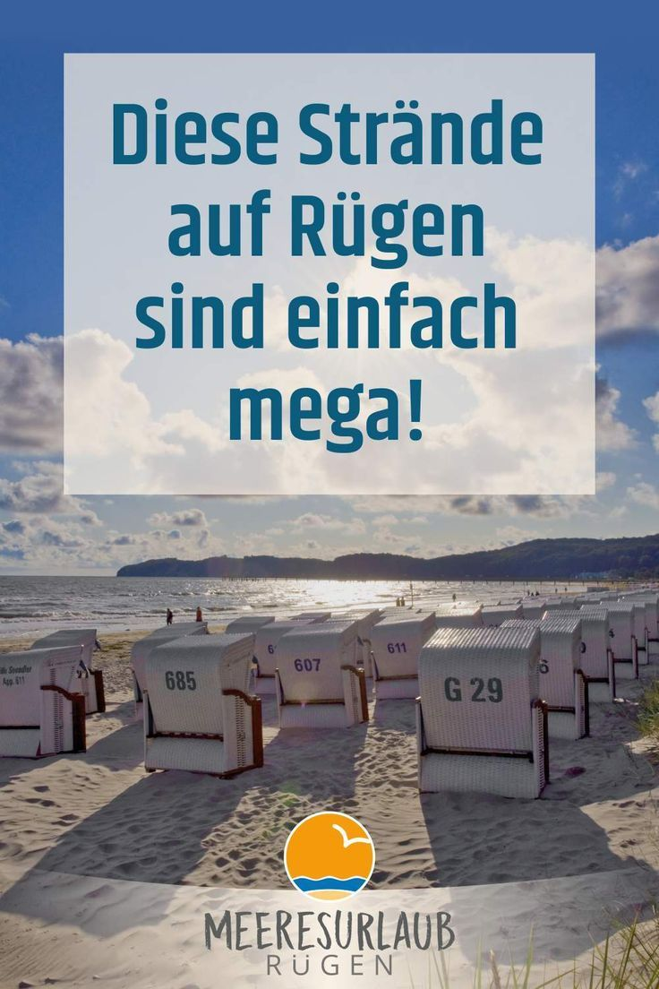 der schönste strand auf rügen  urlaub ferien deutschland