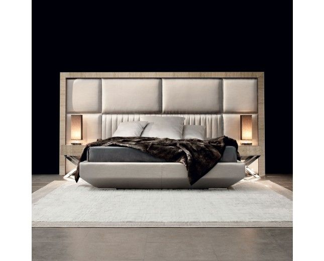 Astonishing Luxury Contemporary Bed Entirely Made In Italy