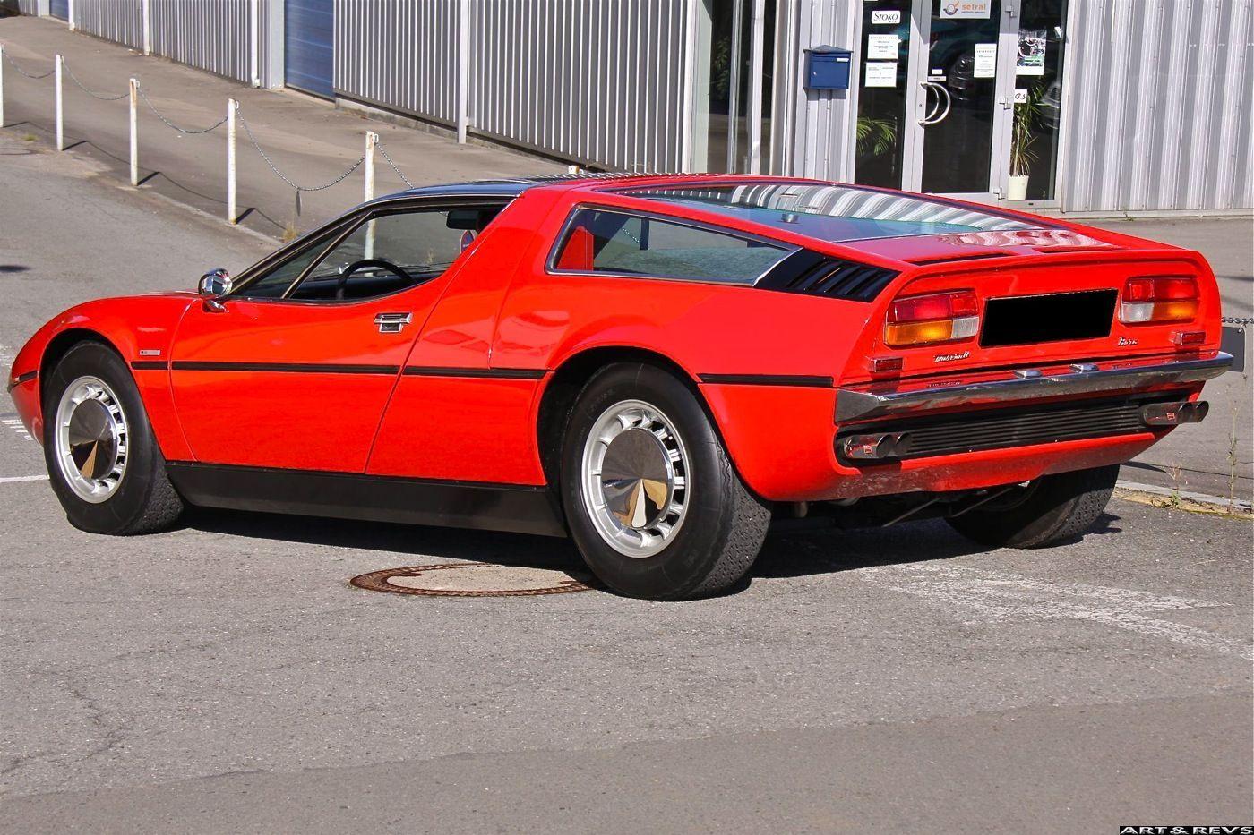 Had a dream I was driving this Maserati Bora around Des Moines. I ...
