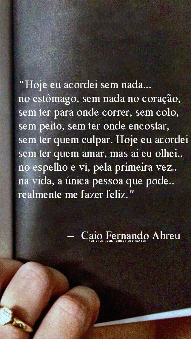 Caio Fernando Abreu Poemas Da Alma Citazioni