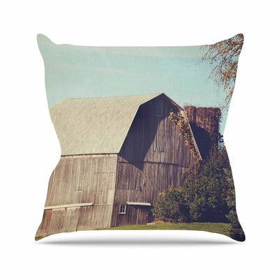 "East Urban Home Barn Angie Turner Throw Pillow Size: 26"" H x 26"" W x 4"" D"
