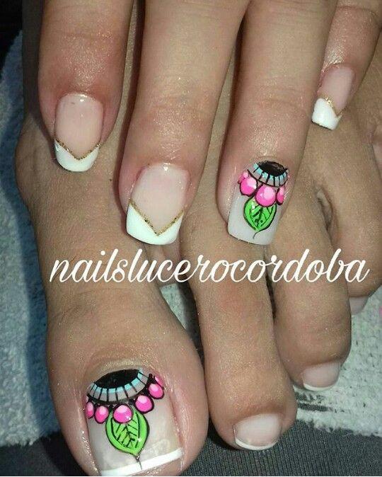 Pin de Arelis Castillo en Uñas | Pinterest | Diseños de uñas ...