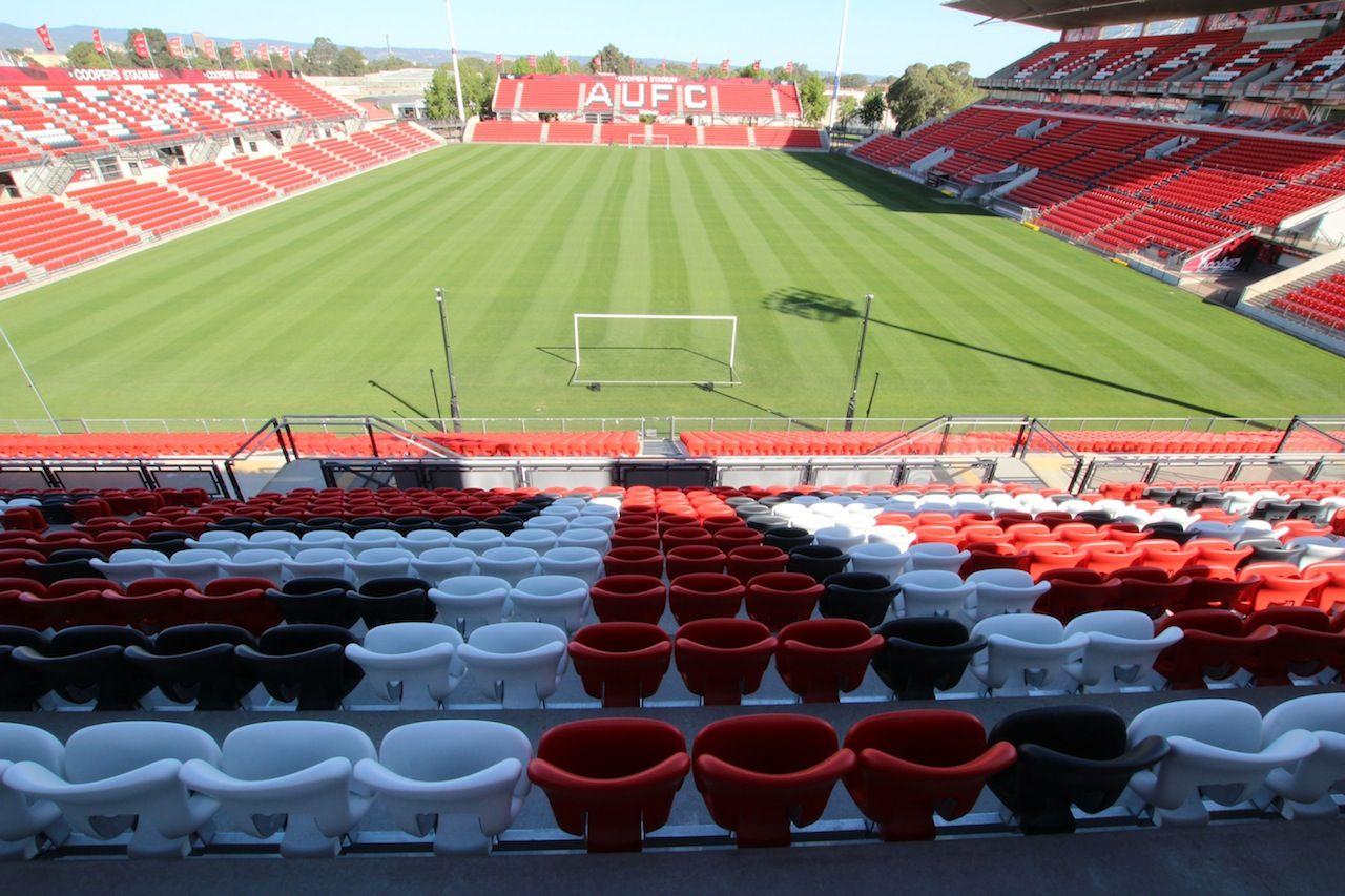Coopers Stadium Adelaide Stadium Seating Profurn In 2020 Stadium Baseball Field Field
