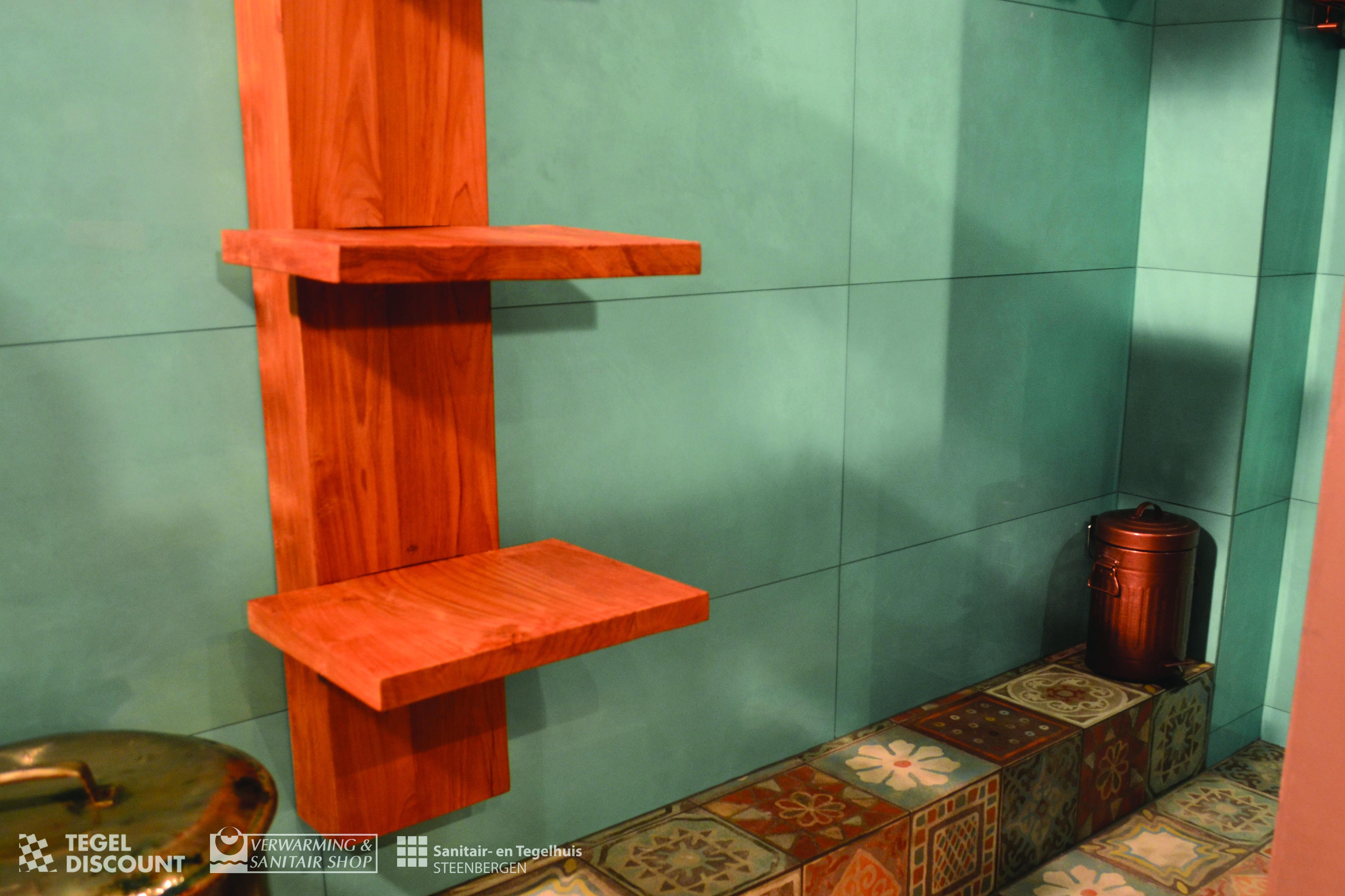 Badkamer Tegels Ceramico : Badkamer mediterraans tegels turquoise memory mood