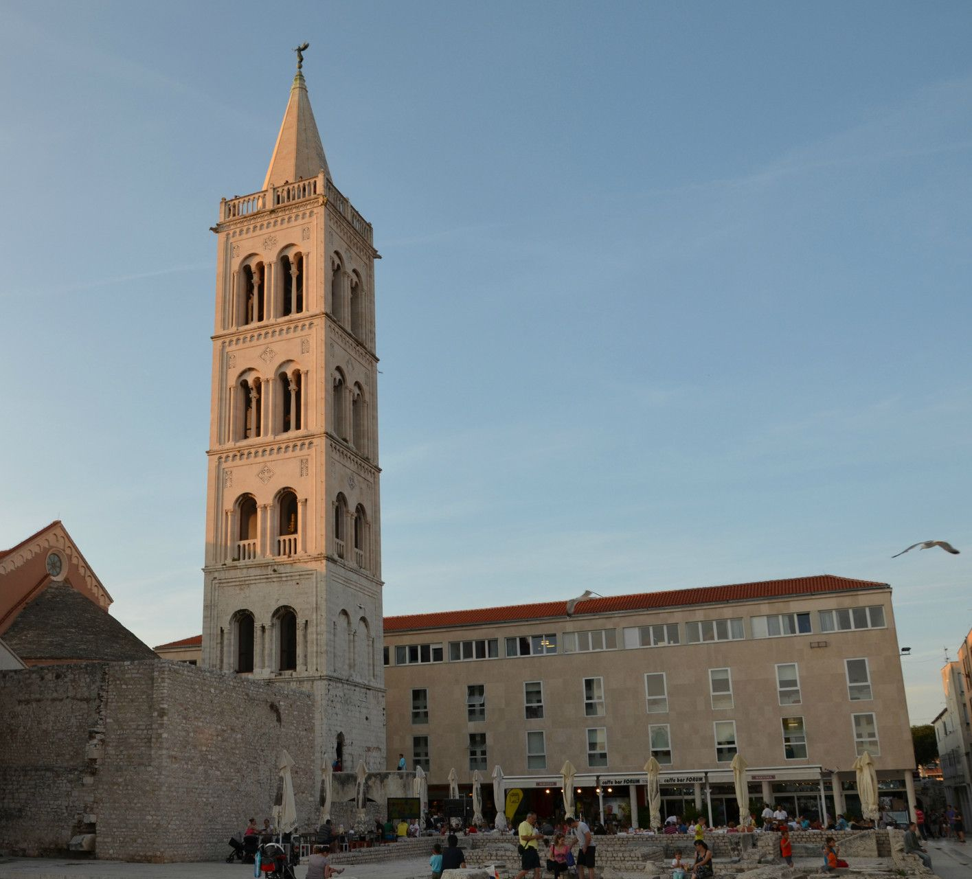 St Anastasia Bell Tower Zadar Europe S Best Destinations Croatia Zadar Zagreb Croatia