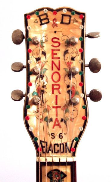 Bacon and Day Senorita S-6 1935 | taking guitars to a whole new ...