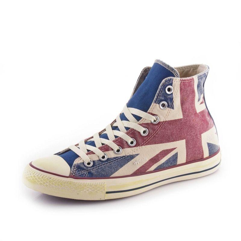 converse drapeau anglais pas cher