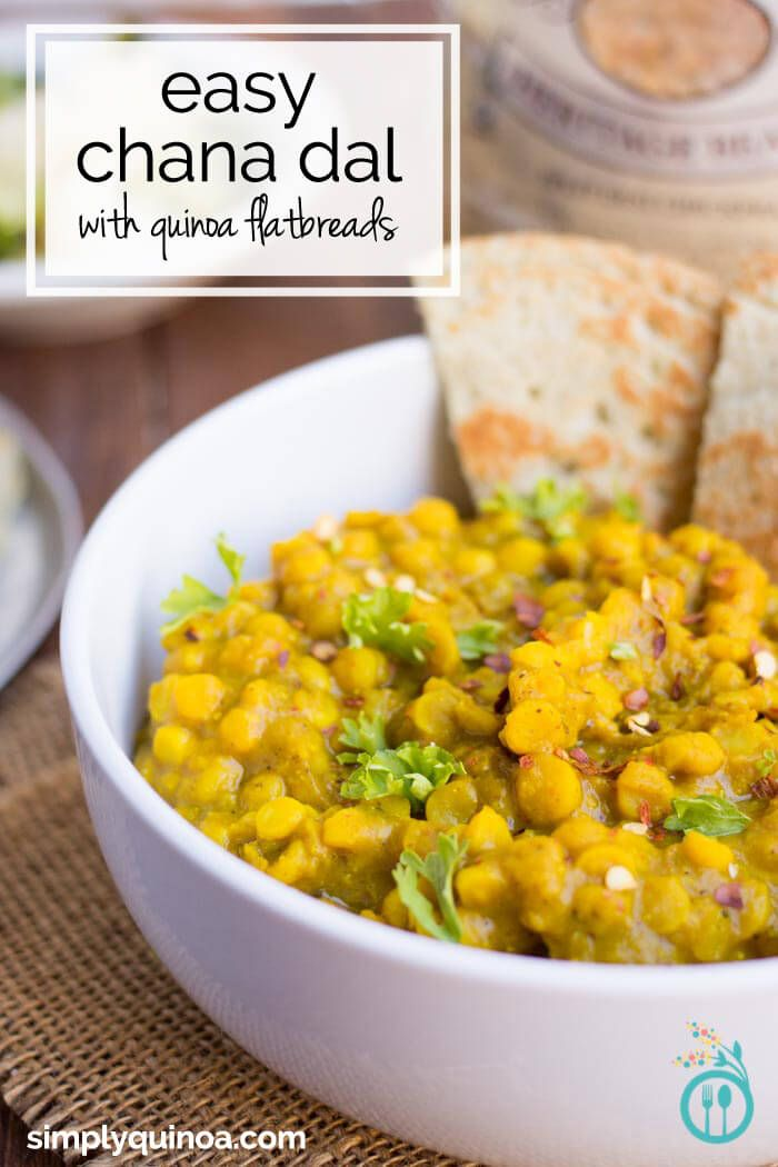 Easy chana dal with coconut quinoa flatbreads recipe dal recipe easy indian chana dal recipe with a simple quinoa flatbread forumfinder Images