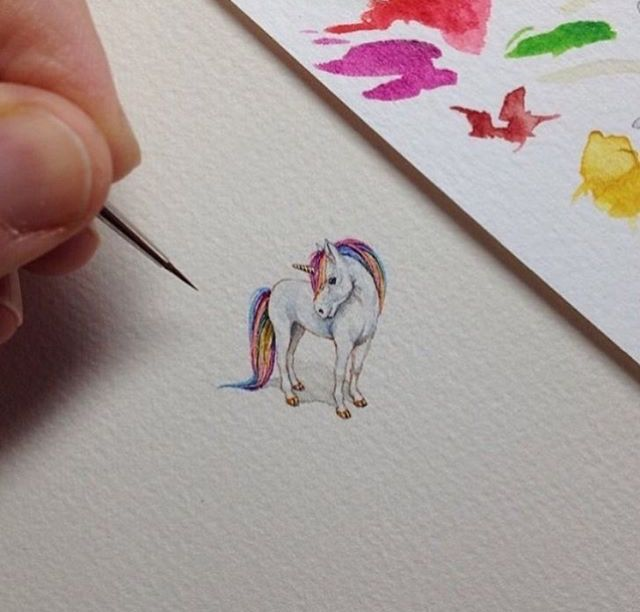 Pin By Tallulah On Drawings Pinterest Drawings - Artist creates miniature paintings everyday entire year