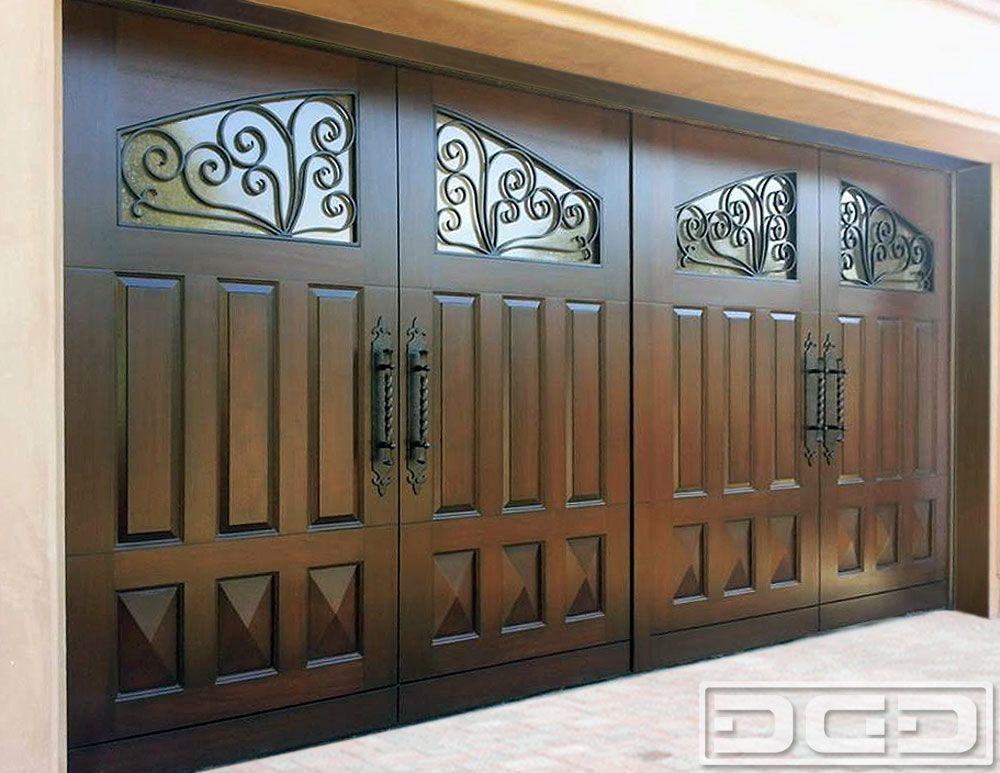 Mediterranean Revival 10 Garage Doors Garage Door Design Custom Garage Doors