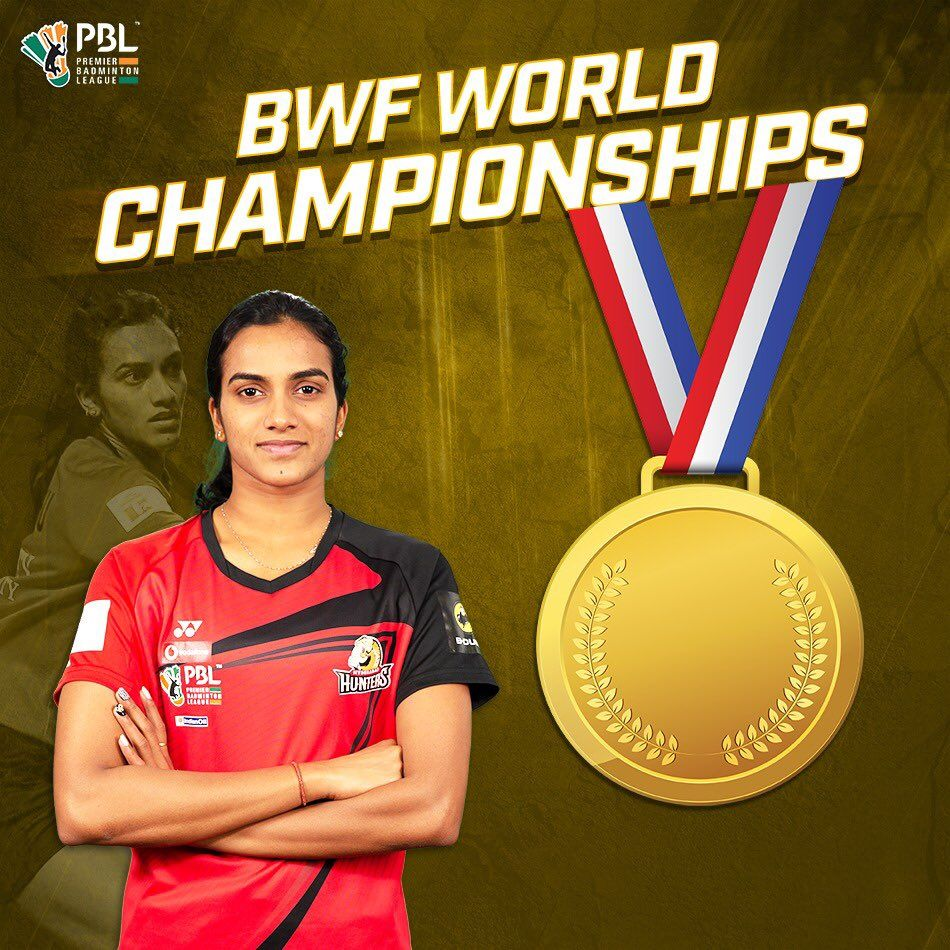 Pv Sindhu Becomes The First Indian To Win The Bwf World Championships World Championship Hearty Congratulations Fitness Motivation