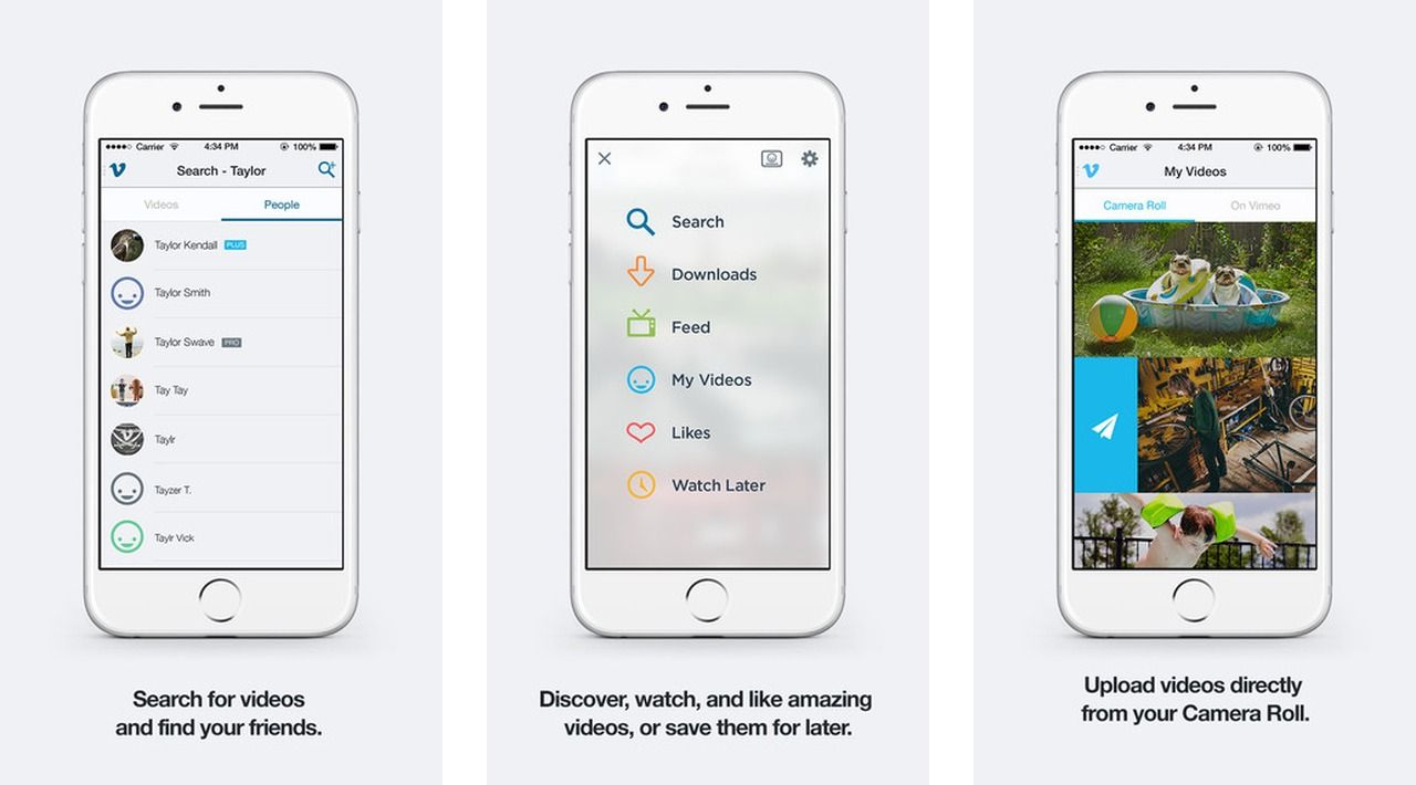 Vimeo App Gets Chromecast Support App, Ios app, Cool stuff
