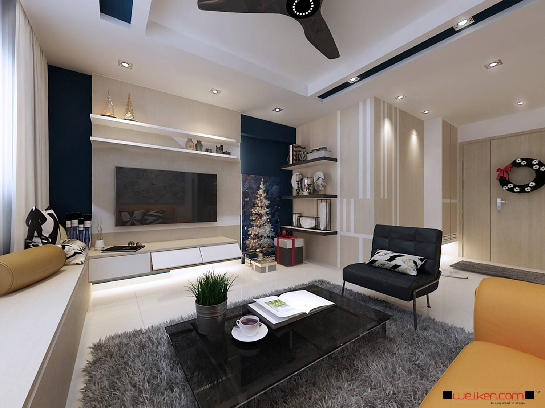 Making a small HDB flat look stylish and modern need not be ...