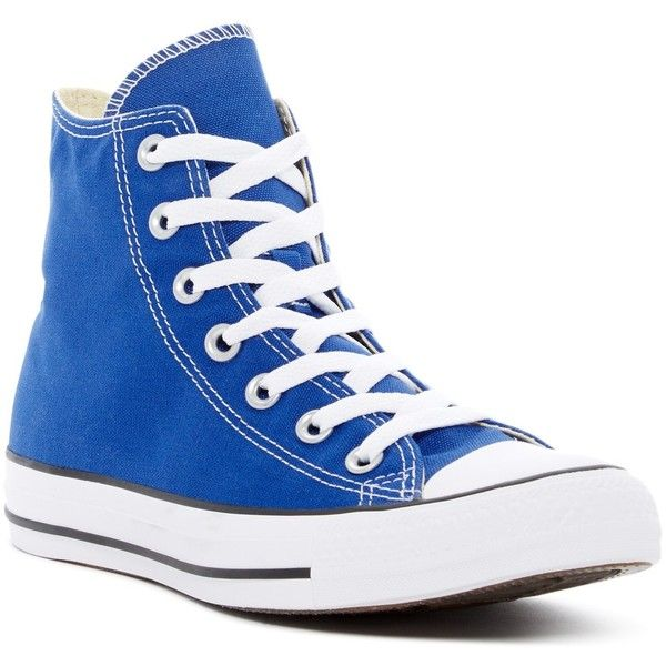 dc2bce0dfa0e Converse Chuck Taylor All Star Hi Top Sneakers (Unisex) ( 40) ❤ liked on  Polyvore featuring shoes