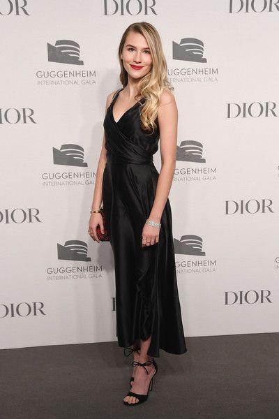 Sofia Hubitz attends the 2018 Guggenheim International