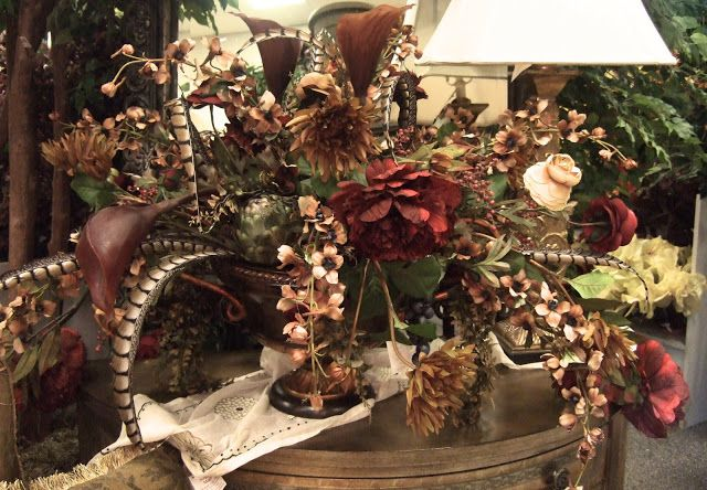 Brown Sage And Burgundy Silk Flowers Arrangements Silk Flower Arrangements Flower Arrangements Silk Peony Centerpiece