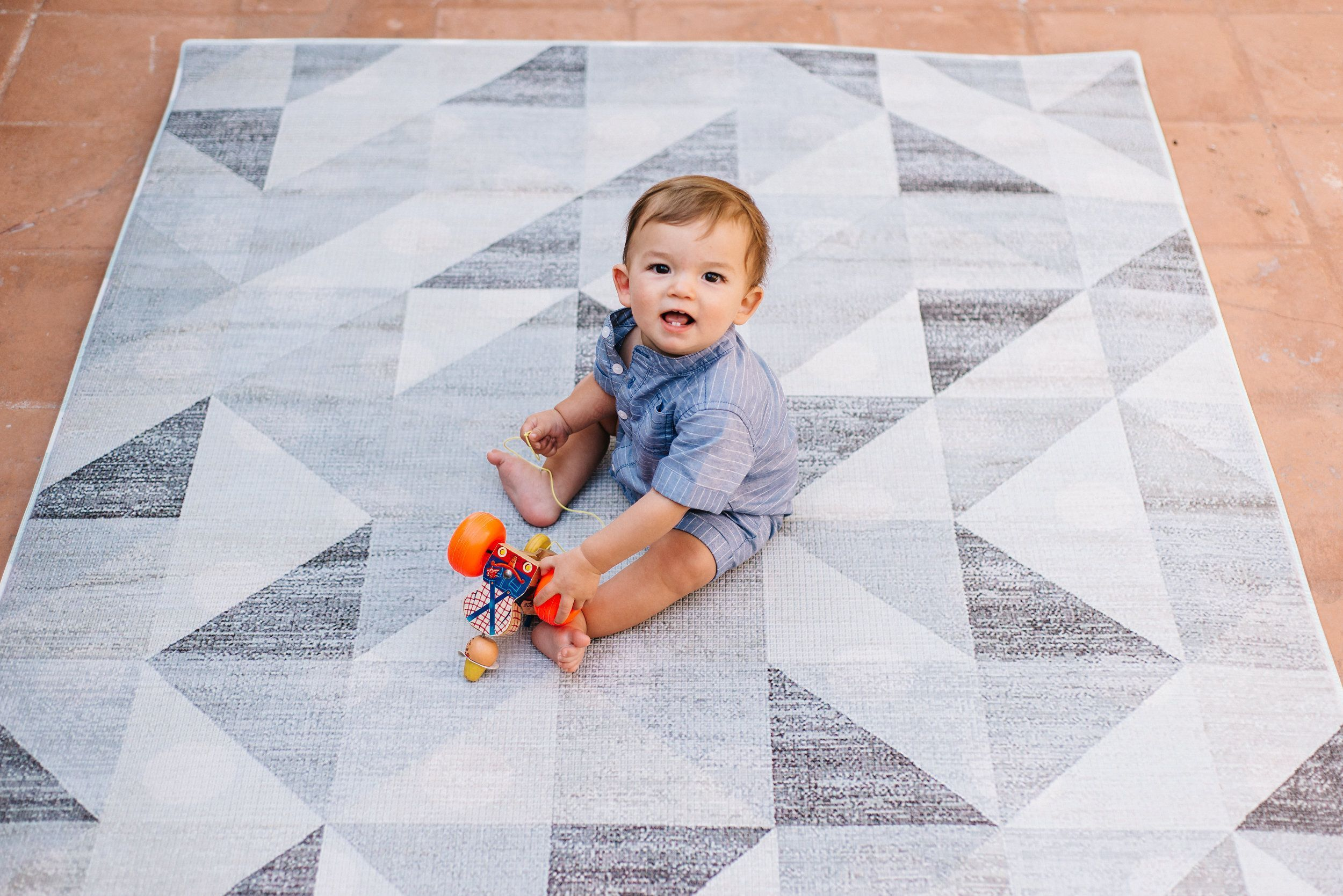 Lulu Style Ruggish Memory Foam Play Rug Nurseryrugs