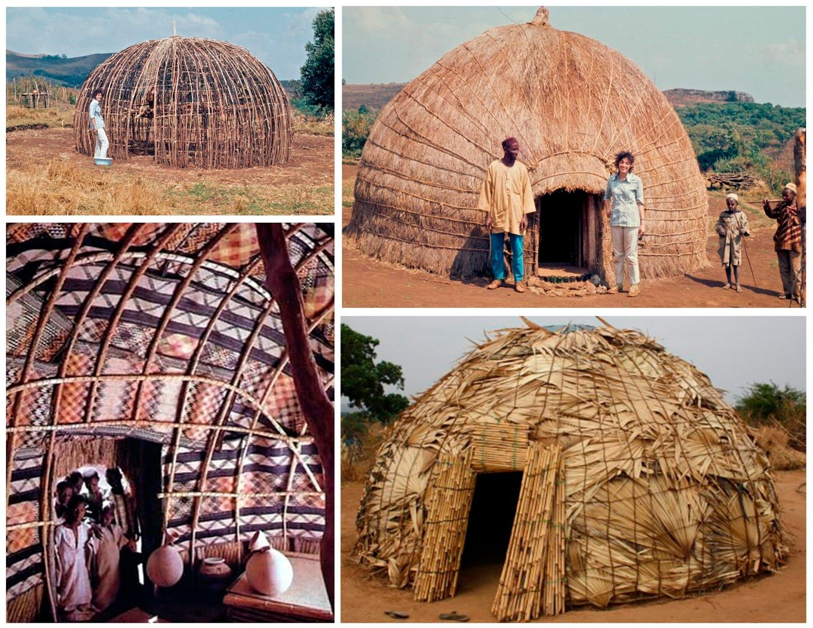 north afr houses of the nomadic fulani tribe north africa made