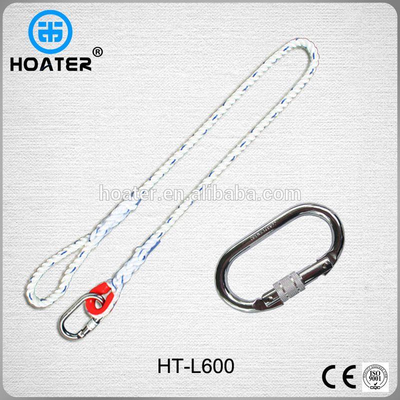High Quality EN354 Safety Belt Rope For Safety Harness