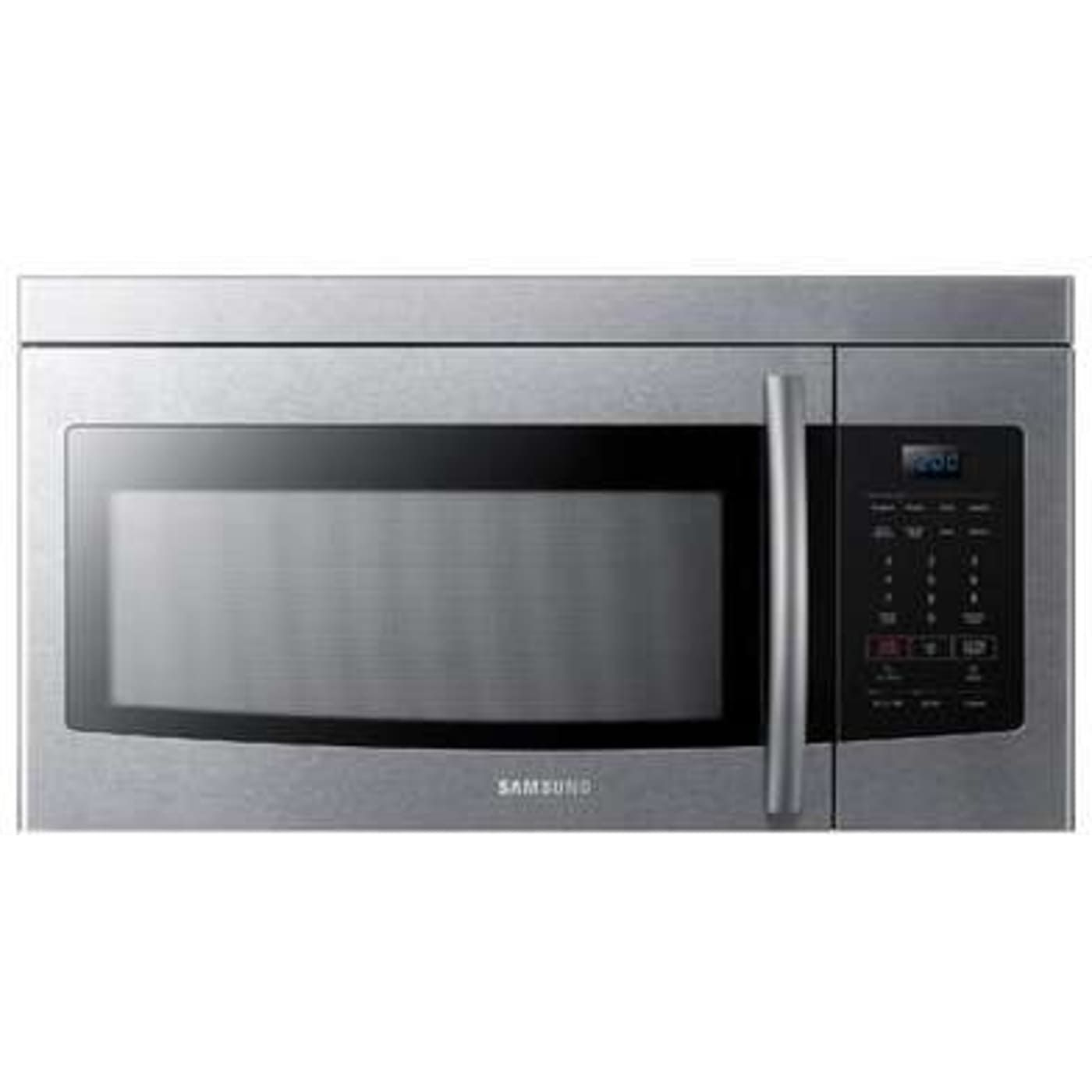 Me16k3000as By Samsung Over The Range Microwaves Goedekers Com Range Microwave Microwave Samsung