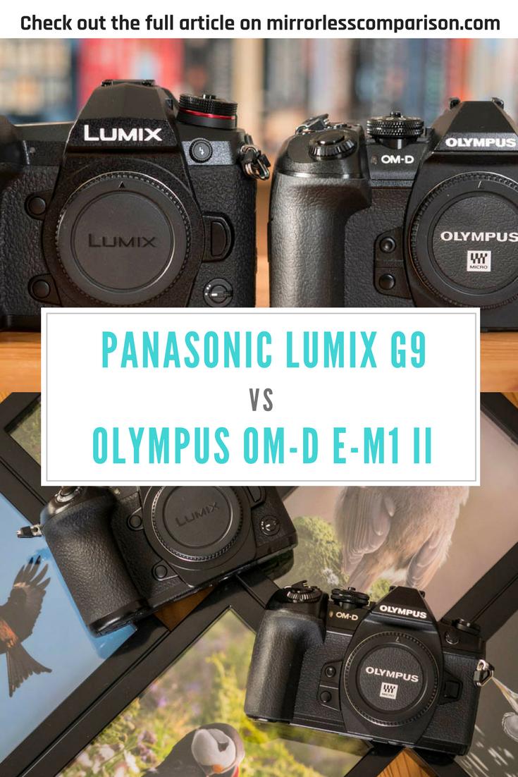 A Full Comparison Between The Panasonic Lumix G9 And Olympus Om D E M1 Mark Ii Mirrorless Cameras With A Focus On Wildlife S Panasonic Lumix Panasonic Olympus