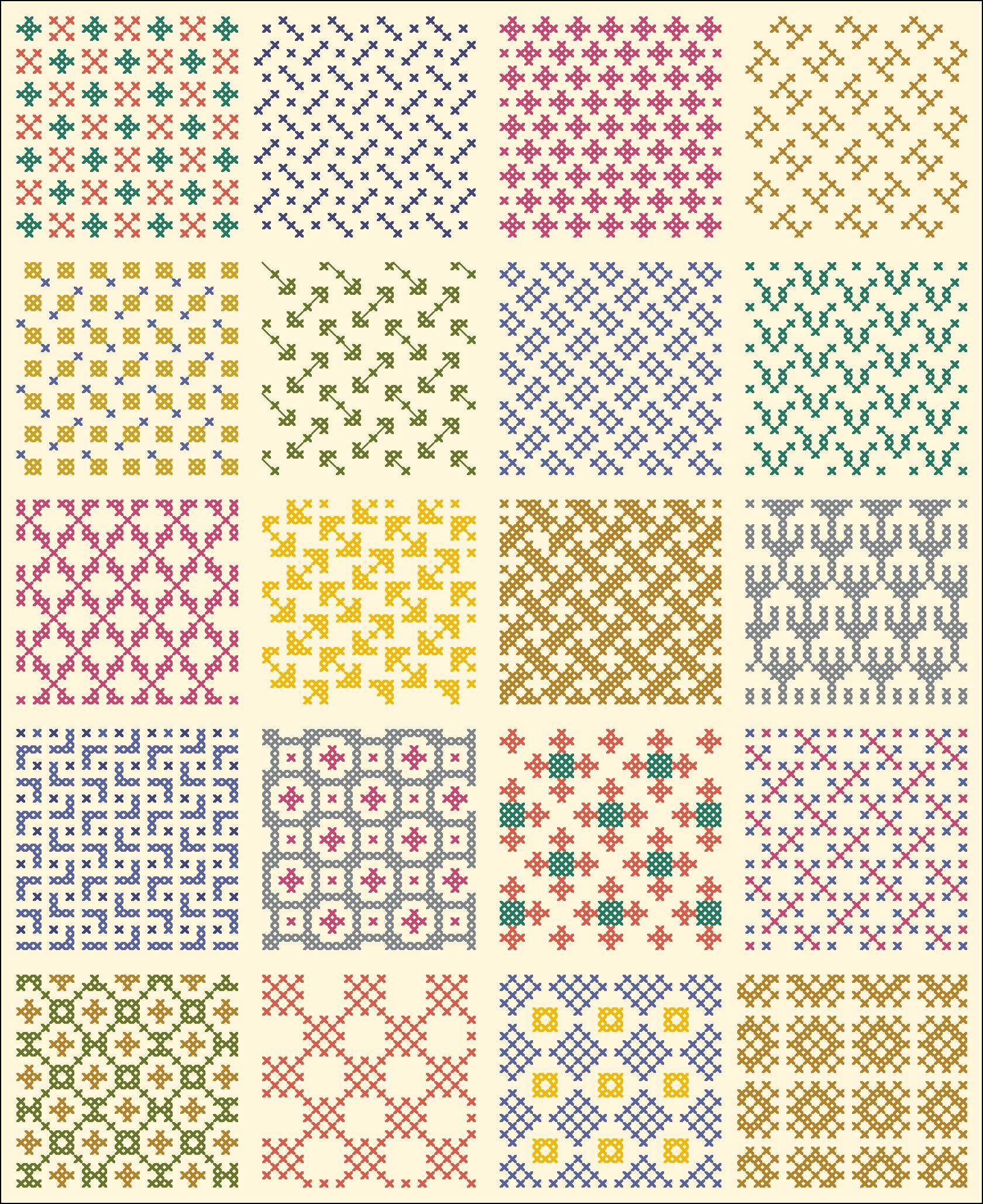 All Over 22 | gancedo.eu | tapestry crochet patterns | Pinterest ...