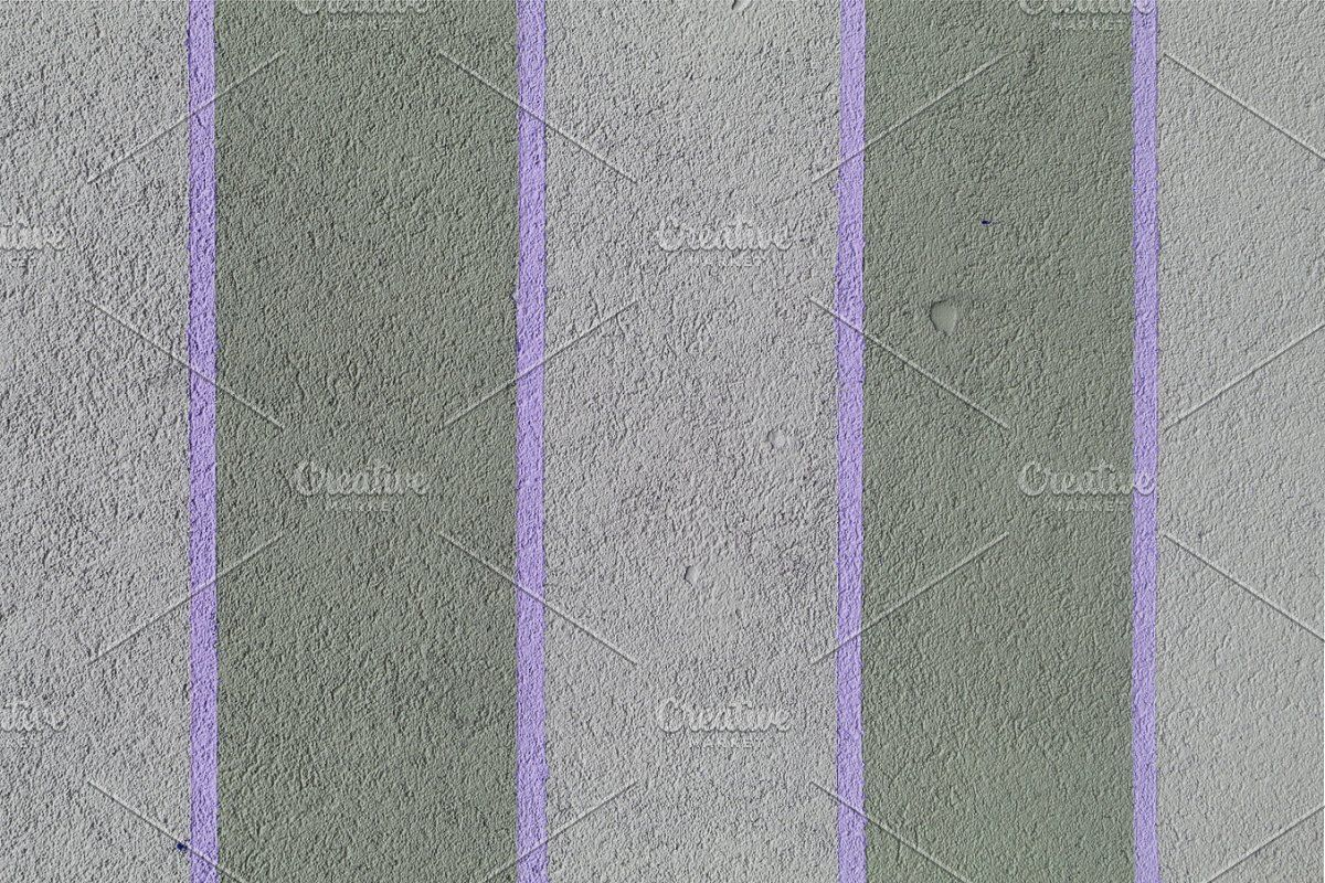 Blue Stripes Paint Concrete Wall In 2020 Painting Concrete Walls Concrete Wall Painting Concrete