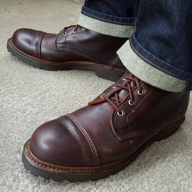 9ca3cc0ac Allen Edmonds Brown Kudu Normandy Boots | Men's Shoes | Shoes, Boots ...