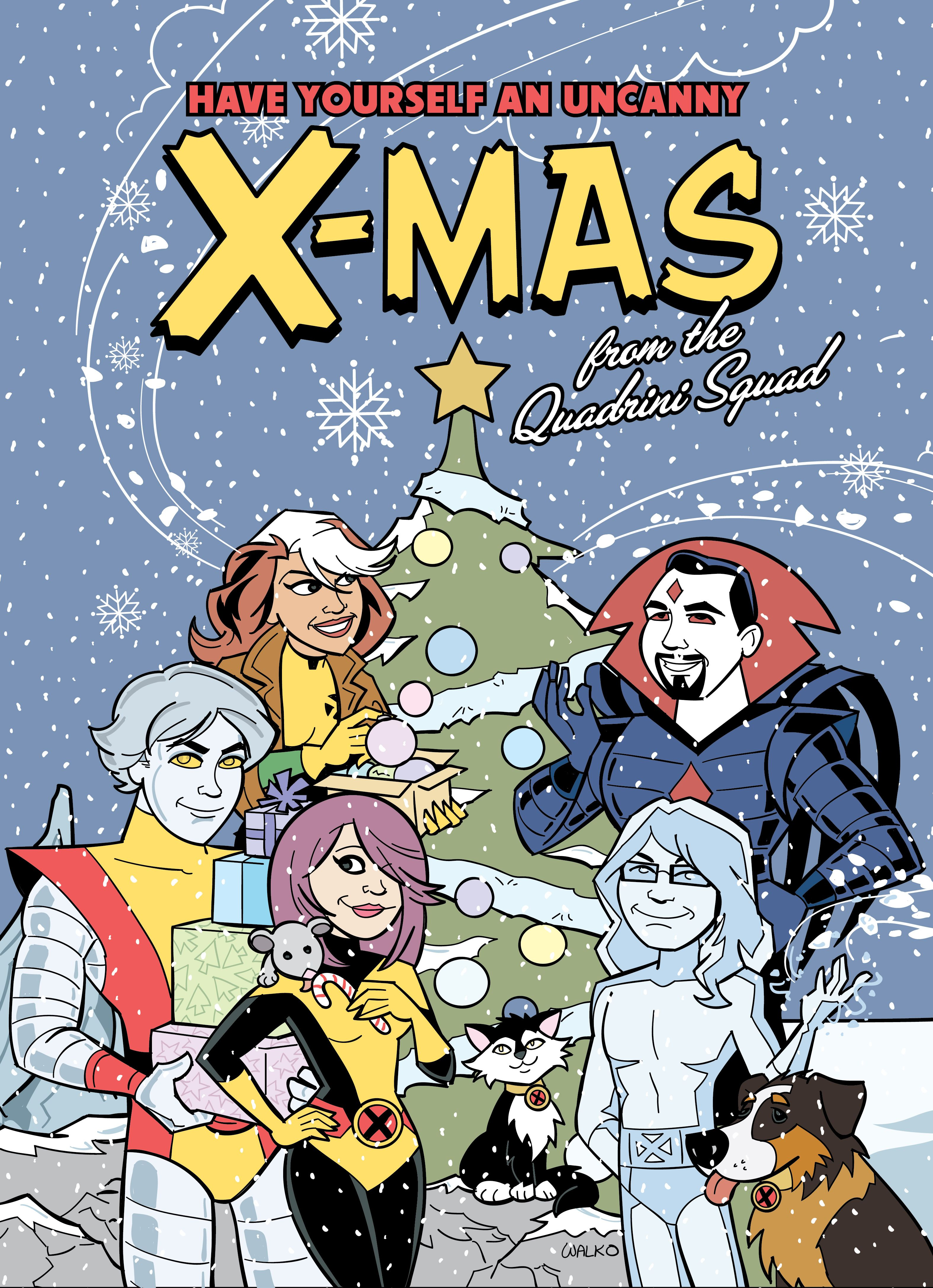so x-cited about our Bill Walko original Christmas card! <3 | FanArt ...