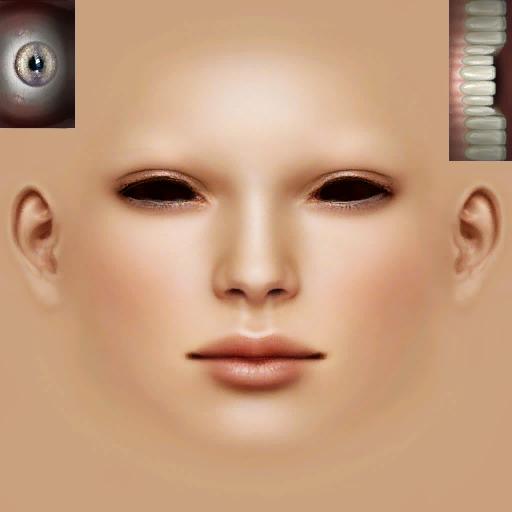 Wip Unter Deine Haut Skintones Former Ethereal Skins Eye Texture 3d Face Model Skin Textures